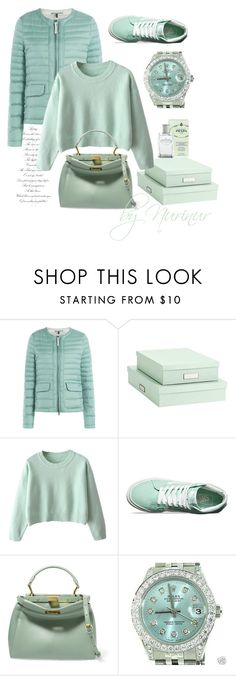 """""""The power of color"""" by nurinur ❤ liked on Polyvore featuring Woolrich, Bigso, Vans, Fendi, Rolex and Prada"""