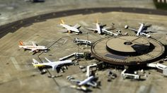 Miniature Airport by disparkys, via Flickr