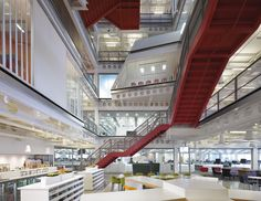 Ropemaker, London by Clive Wilkinson Architects , via Behance
