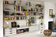 Vitsoe 606 shelving system by Dieter Rams