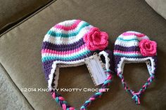 super-bulky-striped-hat-free-pattern-this-is-my-new-favorite-hat-to-do-because/ - The world's most private search engine Crochet Kids Hats, Crochet Beanie Hat, Crochet Cap, Love Crochet, Crochet Crafts, Crochet Clothes, Crochet Projects, Knitted Hats, Crochet Accessories