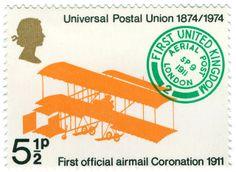 universal postal union - british postage stamp | Flickr - Photo Sharing!