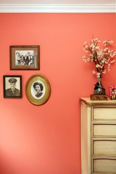 That paint color - Coral paint color for living room ...