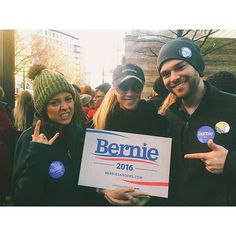 Celebrating Mr. G's life the best way possible: the #BernieSanders ATL rally