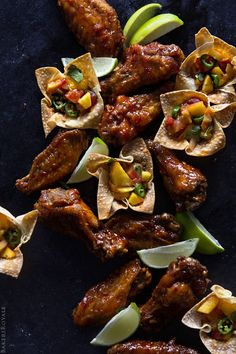 Spicy Asian-Style Hot Wings - Bakers Royale