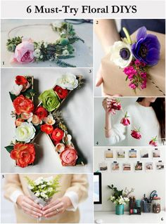 Instead of giving your sweetheart a generic bouquet from the grocery store this Valentine's Day (it's next week people!), step up your gifting game and get a little crafty. These 6 Must-Try Floral DIYS will leave your valentine thoroughly impressed and your home smelling amazing. What's not to love about that? 1. DIY Floral Crown by…