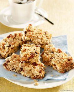 Rezept für Haferflocken-Müsliriegel mit Kokos bei Essen und Trinken. Und weitere Rezepte in den Kategorien Getreide, Milch + Milchprodukte, Nüsse, Obst, Fingerfood / Snack, Backen, Einfach, Gut vorzubereiten.