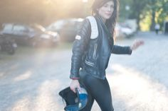 Motorcycle Girl 071 ~ Return of the Cafe Racers
