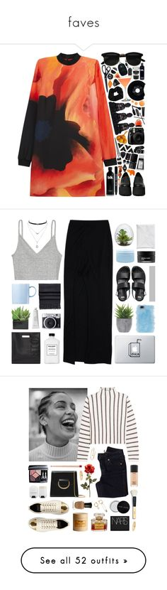 """""""faves"""" by realshannon ❤ liked on Polyvore featuring HAY, Fujifilm, Victoria, Victoria Beckham, CHESTERFIELD, Topshop, Areaware, Pier 1 Imports, Jeffrey Campbell, NARS Cosmetics and Urbanears"""
