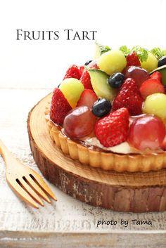 お菓子、お料理のカトラリーについて(フルーツタルト)