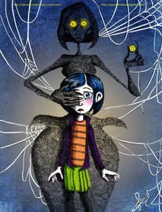 Coraline. Favorite movie by Tim burton!