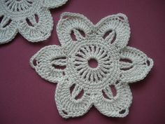 Crochet pattern/Flower/step by step