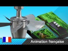 Turbine Kaplan / centrale hydroélectrique / centrale gravitaire - Fonctionnement - YouTube