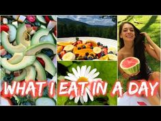 What I Eat in a Day #5 | Raw in College - YouTube