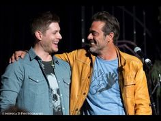 """▶ SPN Cast Singing """"With a little help from my friends"""" - YouTube"""