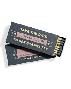 Unique Save the Date