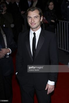 Jude Law during 32nd Cesar Awards Ceremony - Arrivals at Theatre du chatelet in Paris, France.