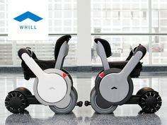 WHILL's combination of smart design and advanced technology takes personal mobility to the next level.