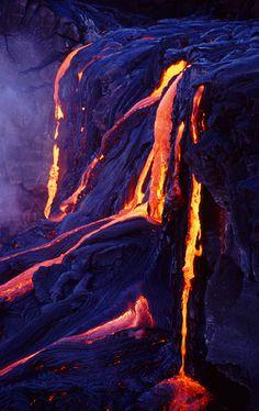 """Kilauea volcano on the """"Big Island"""" of Hawaii, Jeffrey Brown"""