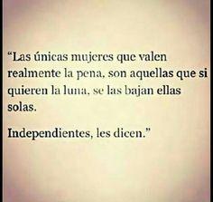 Independientes les dicen...