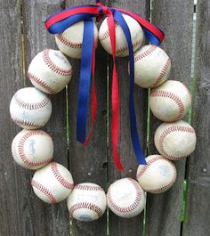 Baby Toes by Christy Craig: Chicago Cubs Baseball Love Wreath - customer order