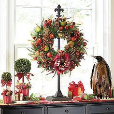 Bon Adjustable Wreath Stand
