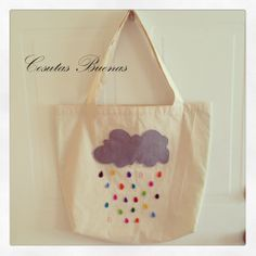 Bolsa de género  Diseño Gotitas de colores.