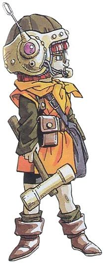 Lucca Concept - Characters & Art - Chrono Trigger