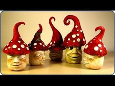 ❣DIY Fairy Garden Mushroom Gnomes❣, My Crafts and DIY Projects