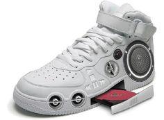 CD player shoe | #TreatYoSelf | #ParksandRec