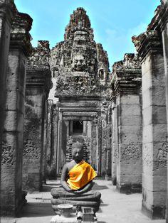 Meditation, Angkor Wat, Cambodia
