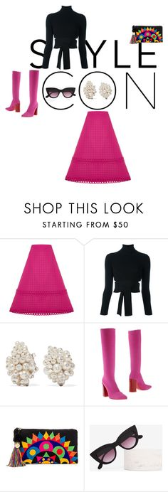 Ann by wildpatchouli on Polyvore featuring Cushnie Et Ochs, House of Holland, Luca Valentini, The Way U, Fred Leighton, Quay, Pink and pretty House Of Holland, Cushnie Et Ochs, Ann, Pretty, Polyvore, Stuff To Buy, Shopping, Collection, Design
