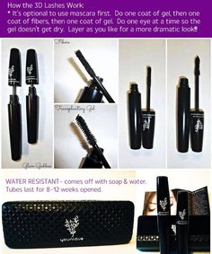 Learn what is hot right now in the cosmetic line! 3D Fiber lashes are all the rage, no need for fake eye lashes!! Contact me to learn how you can get them free!! www.GlamorousLashesbyIrene.com