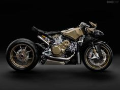 The motorcycle as art: behold the Ducati 1199 Superleggera, stripped of its bodywork.