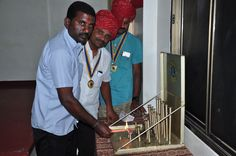 Erode Midtown #LionsClub (India) inducted two new members