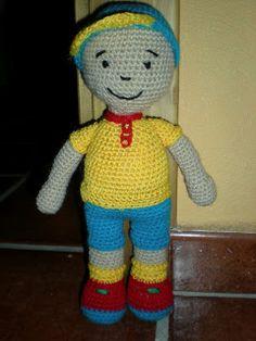 Amigurumis, Crochet y Otras Cosillas Juani: Caillou