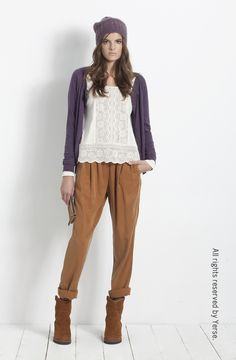 Shop Online - YERSE Camiseta ref. 19226  Chaqueta ref. 19540  Pantalón ref. 19811  Bota cuña ref. 19700  www.yerse.com
