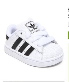 Baby superstars #adidas  Cutest sneakers ever