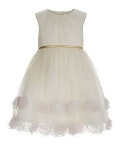 Baby Lexie Dress | Ivory | Monsoon