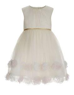 Baby Lexie Dress | Ivory | Monsoon