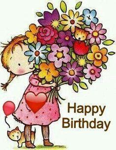 Happy Birthday Images Image · ☆ · · ·-𝔦𝔱-𝔶𝔬𝔲𝔯𝔰𝔢𝔩𝔣 ℑ𝔡𝔢𝔢𝔫🎀 Happy Birthday Pictures, Happy Birthday Messages, Happy Birthday Quotes, Happy Birthday Greetings, Birthday Photos, Happy Birthday Wishes For Her, Birthday Blessings, Birthday Wishes Cards, Friend Birthday