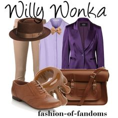 """Willy Wonka"" by fofandoms on Polyvore"