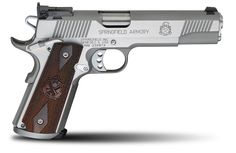 The Trophy Match™ 1911 from Springfield Armory® is designed for serious performance in competition. This proven pistol is specially produced to help you win. You'll find all the quality, features and precision that you need to take your match performance to the highest levels. The Trophy Match™ starts with a forged national match stainless steel …