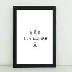 Illustrationen - Spruch Abenteuer Tanne Bild Illustration Kind Baby - ein…
