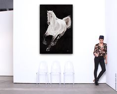 Horses Couldn't Drag Me Away.. New Paintings on Canvas & Paper by Stefano Altamura