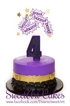 backup idea for cake, with options for wonderwoman, supergirl, or batgirl (or all three if you are feeling over ambitious) Batgirl Cake, Batgirl Party, Batman Party, Dc Superhero Girls Cake, Superhero Birthday Cake, Birthday Cake Girls, Summer Birthday, 6th Birthday Parties, Birthday Party Decorations