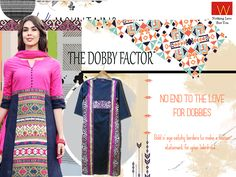 A dobby is a mechanism attached to a loom for weaving small patterns on clothes and at W we have an exclusive collection for everyone who loves a dobby. Shop here http://www.wforwoman.com/products/ss15-latest-collection/summer15-topwear/