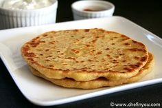 Cheese Paratha Recipe | Paneer and Mozzarella Cheese Paratha