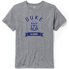Duke University Collection of Gifts - Duke® Alumni Victory Falls Tri-Blend Tee by League® University Store, Duke University, Duke Blue Devils, Tees, Mens Tops, Gifts, Collection, T Shirts, Presents