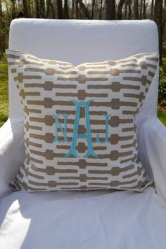 pillow cover from etsy